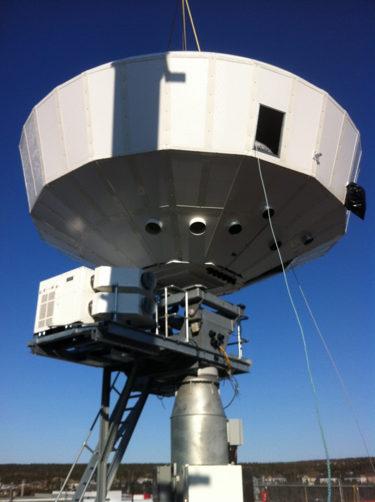 Ka-Band Broadband Gateway Earth Station Antenna Installation