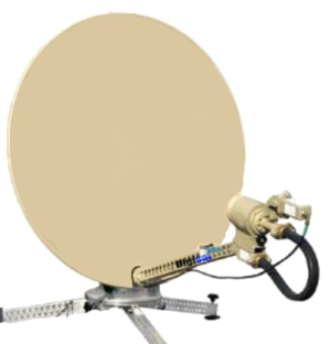 Mobile SNG Internet Antenna
