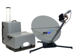 Portable Satellite Internet Access