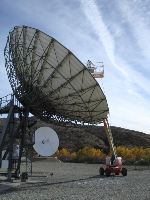 Satcom Antenna Maintenance