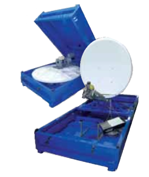 Skid Mounted VSAT Satellite Communications Systems