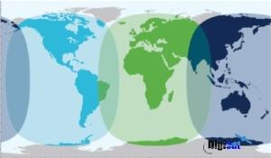 Worldwide Satellite Internet Access