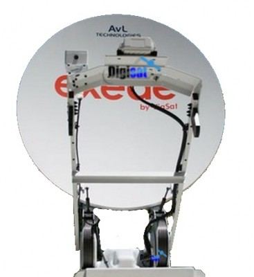 AVL Technologies 1280KVH Exede Ka-Band Vehicle VSAT System