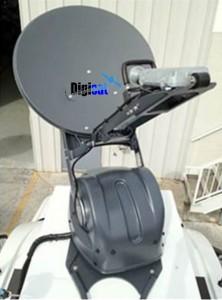 Exede Vehicle Mounted VSAT Terminal