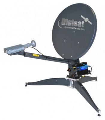 InetVu Viasat Exede Transportable Flyaway Ka-Band Antenna